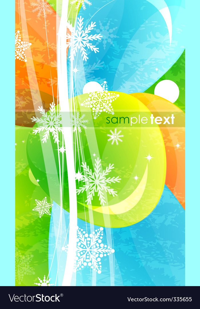 Winter abstract background vector   Price: 1 Credit (USD $1)