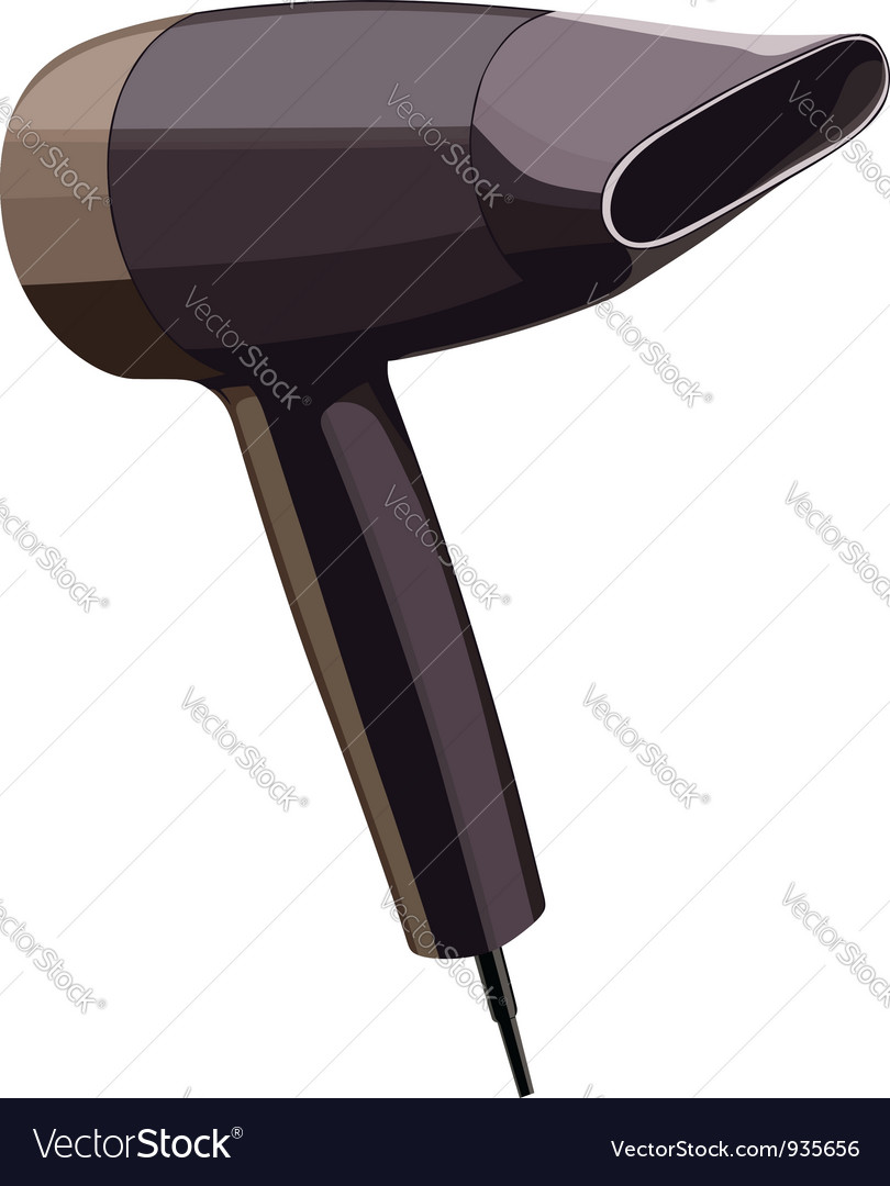 Hair dryer vector | Price: 1 Credit (USD $1)