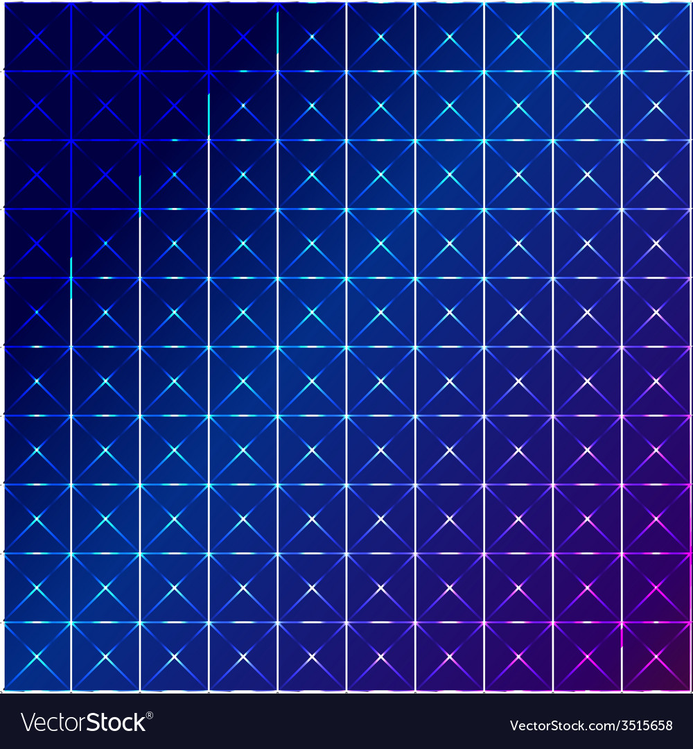 Blue square abstract background vector | Price: 1 Credit (USD $1)
