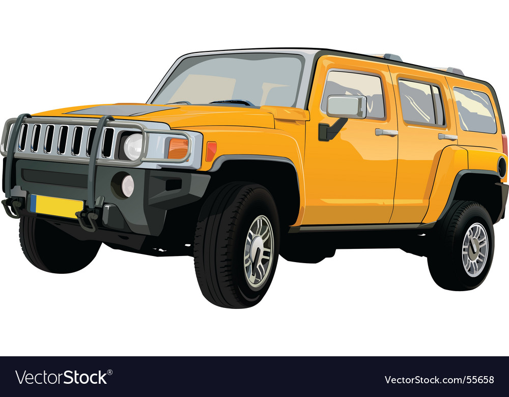 Off-road suv vector | Price: 3 Credit (USD $3)