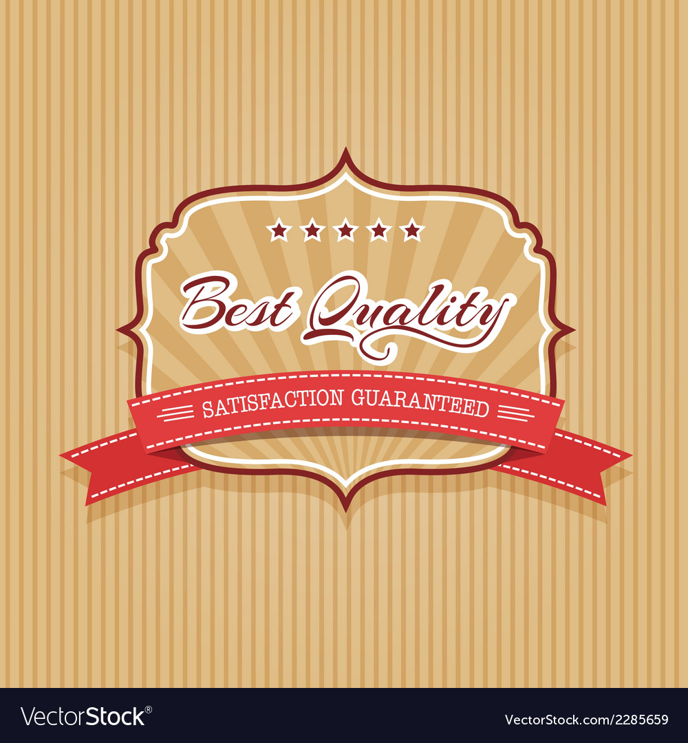 Best quality badge vector | Price: 1 Credit (USD $1)