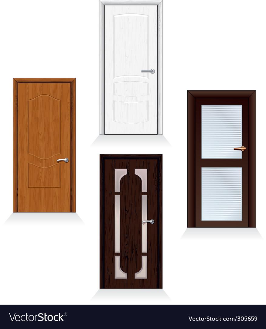 Modern doors vector | Price: 3 Credit (USD $3)