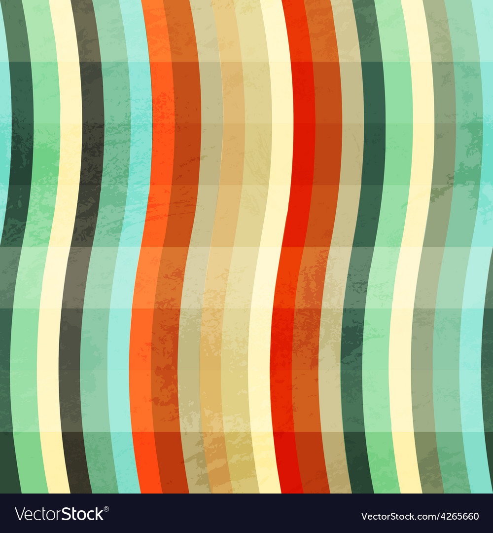 Curve colored grunge seamless vector | Price: 1 Credit (USD $1)