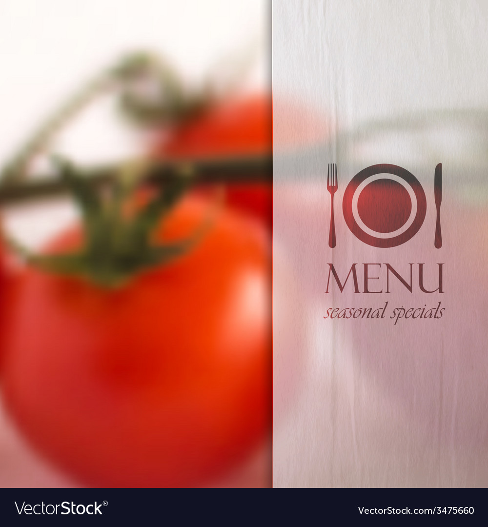 Restaurant menu design with background of bunch of vector | Price: 1 Credit (USD $1)