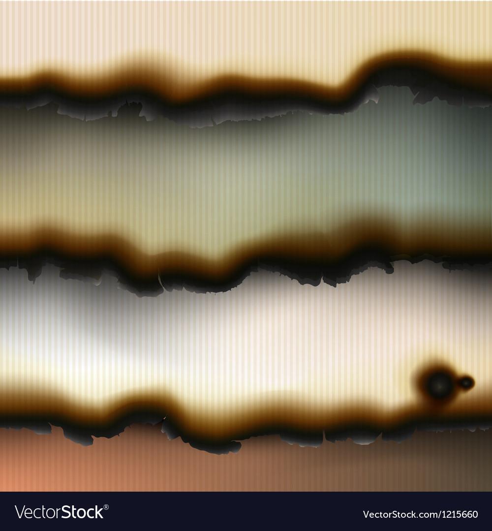 Vintage burned paper backgrounds vector | Price: 1 Credit (USD $1)
