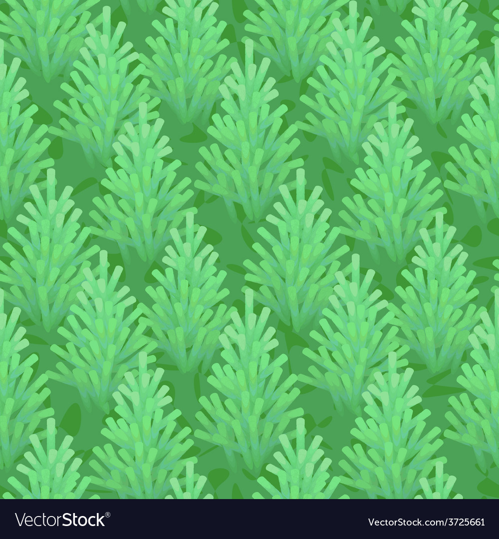 Green fir wood seamless vector | Price: 1 Credit (USD $1)