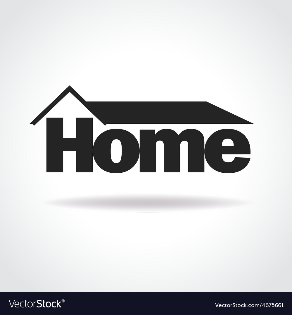 Home logo concept vector | Price: 1 Credit (USD $1)