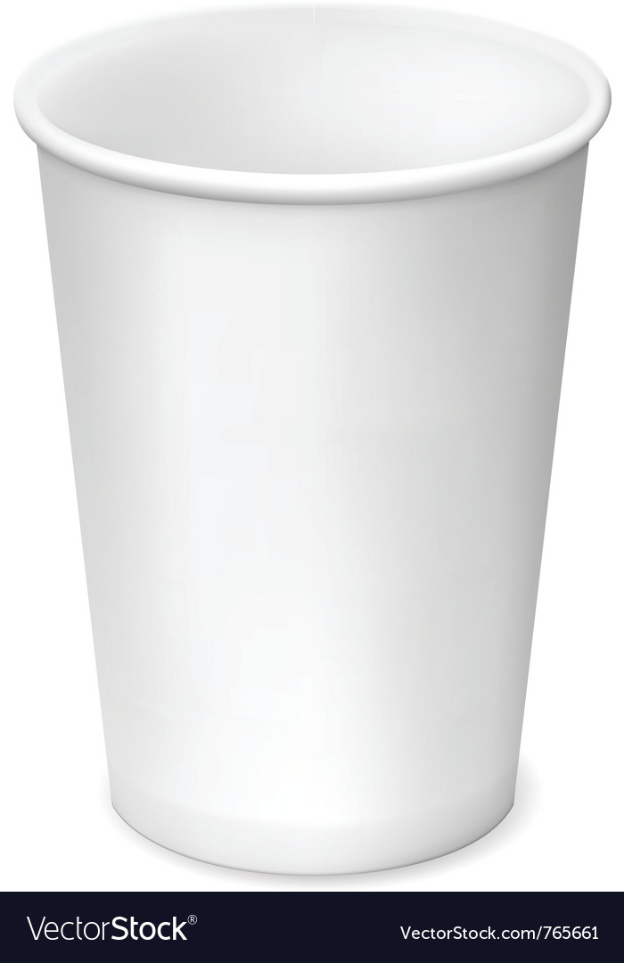 Paper cup vector | Price: 3 Credit (USD $3)