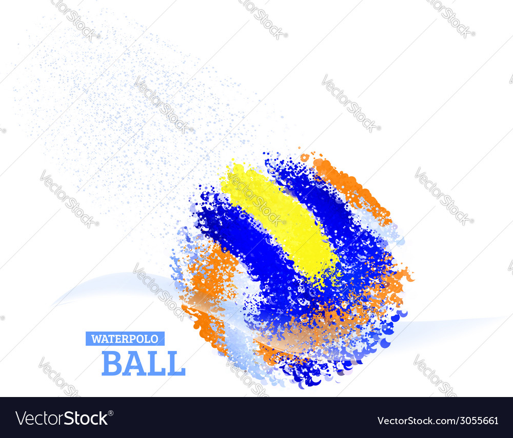 Water polo ball vector | Price: 1 Credit (USD $1)