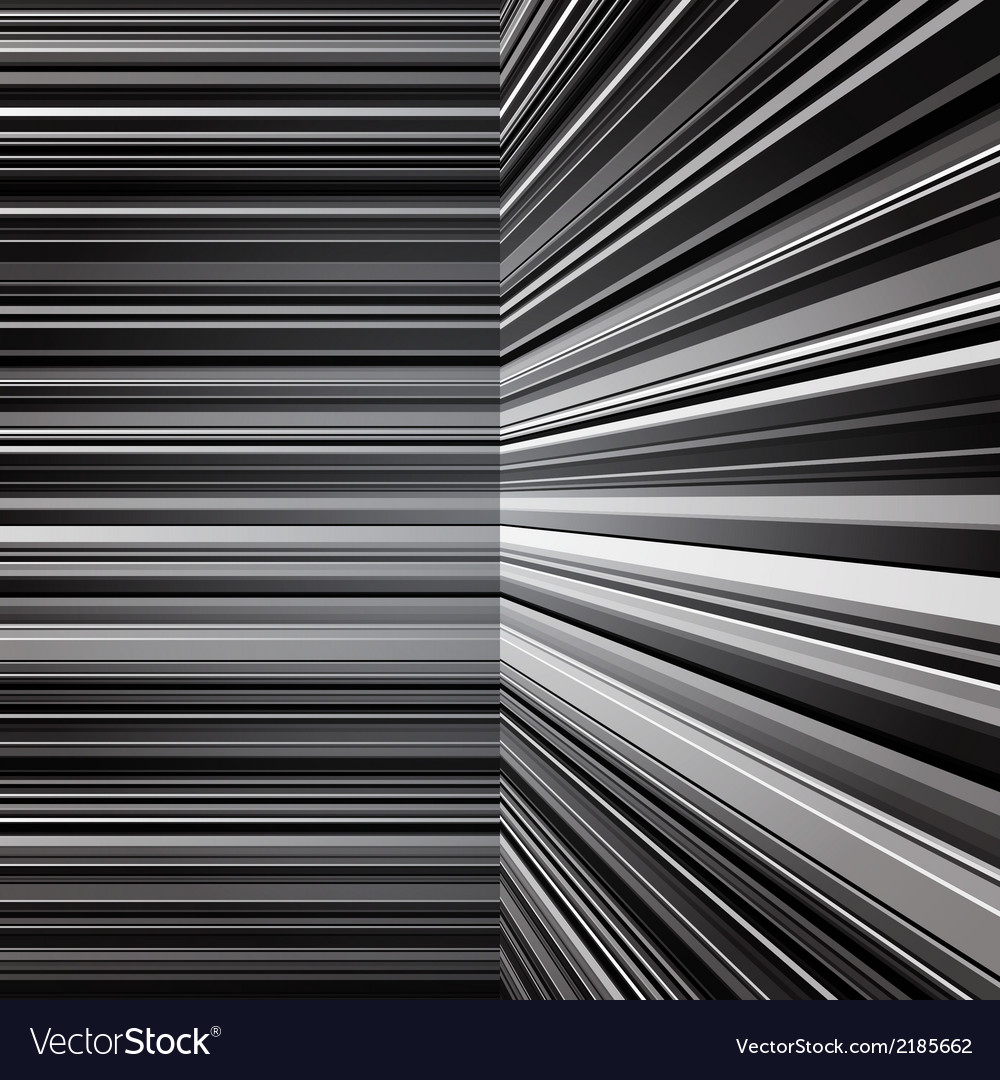Abstract warped grey stripes background vector | Price: 1 Credit (USD $1)