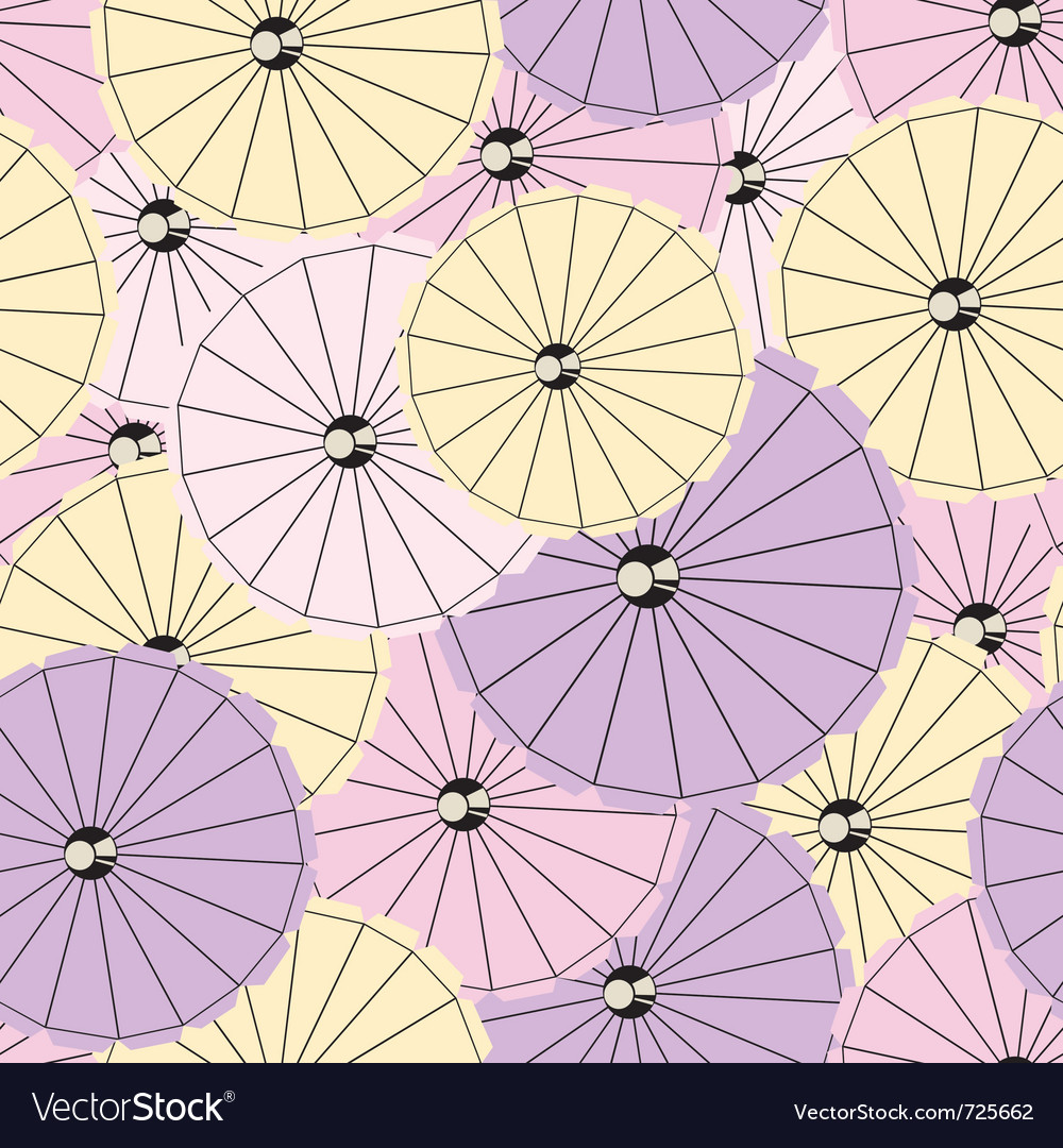 Colorful cocktail umbrellas vector | Price: 1 Credit (USD $1)