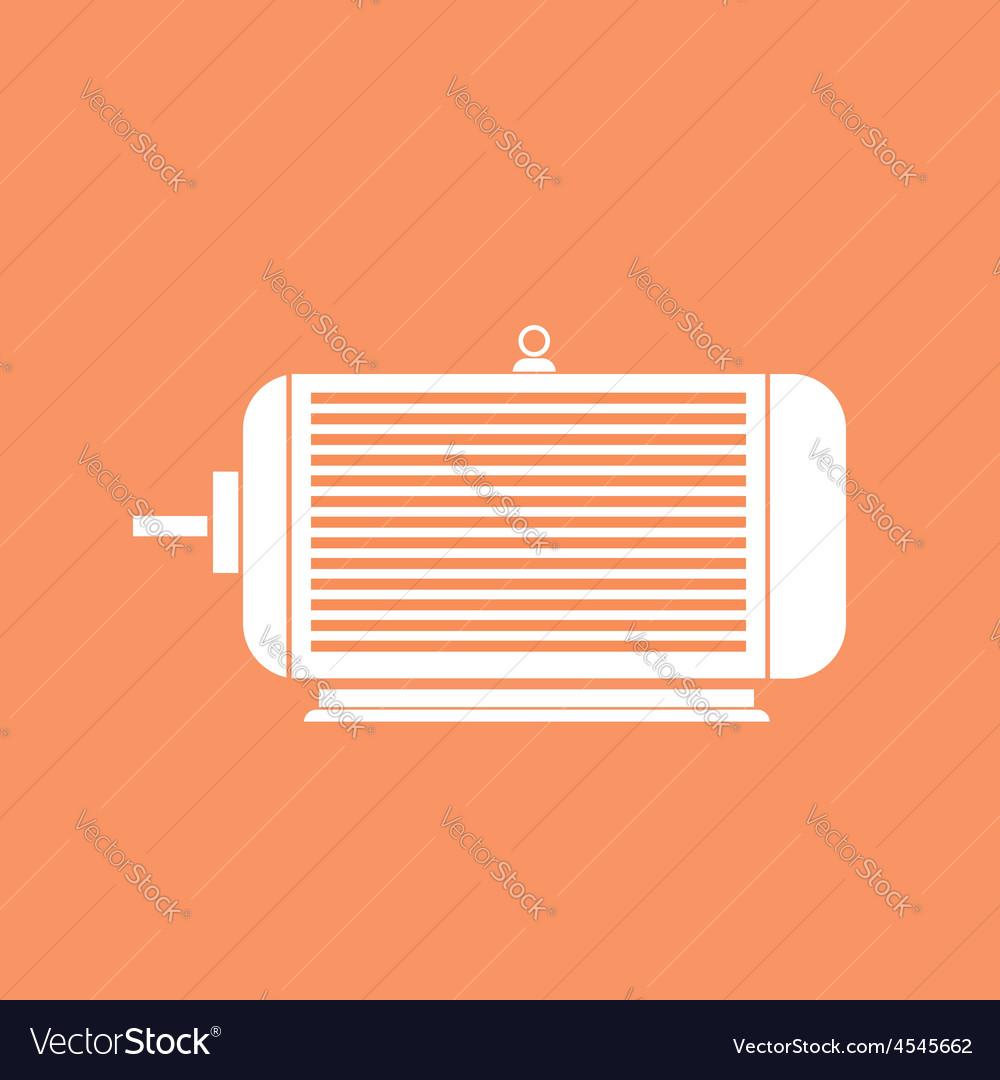 Electric motor vector | Price: 1 Credit (USD $1)