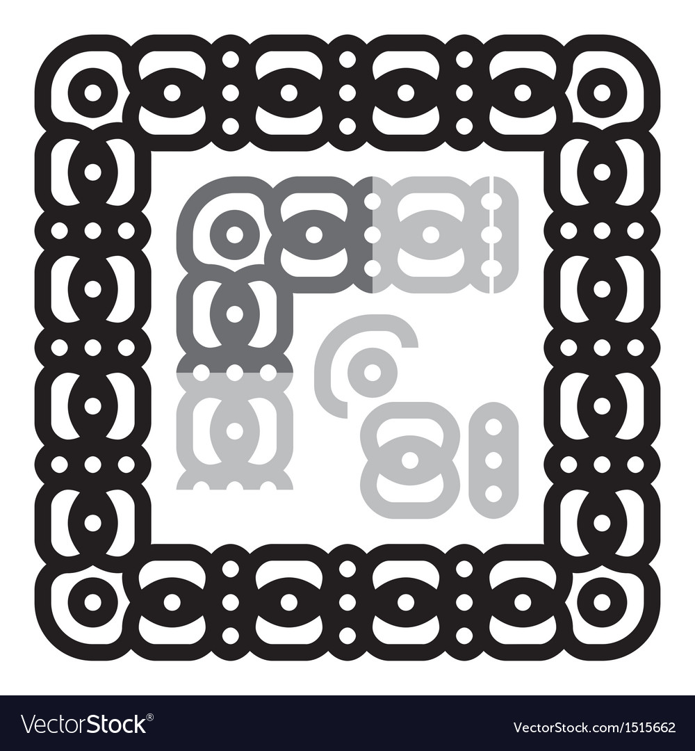 Frame ornament vector | Price: 1 Credit (USD $1)