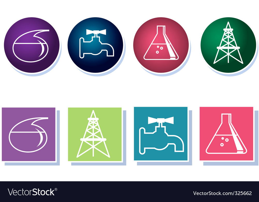 Iconset industry vector | Price: 1 Credit (USD $1)