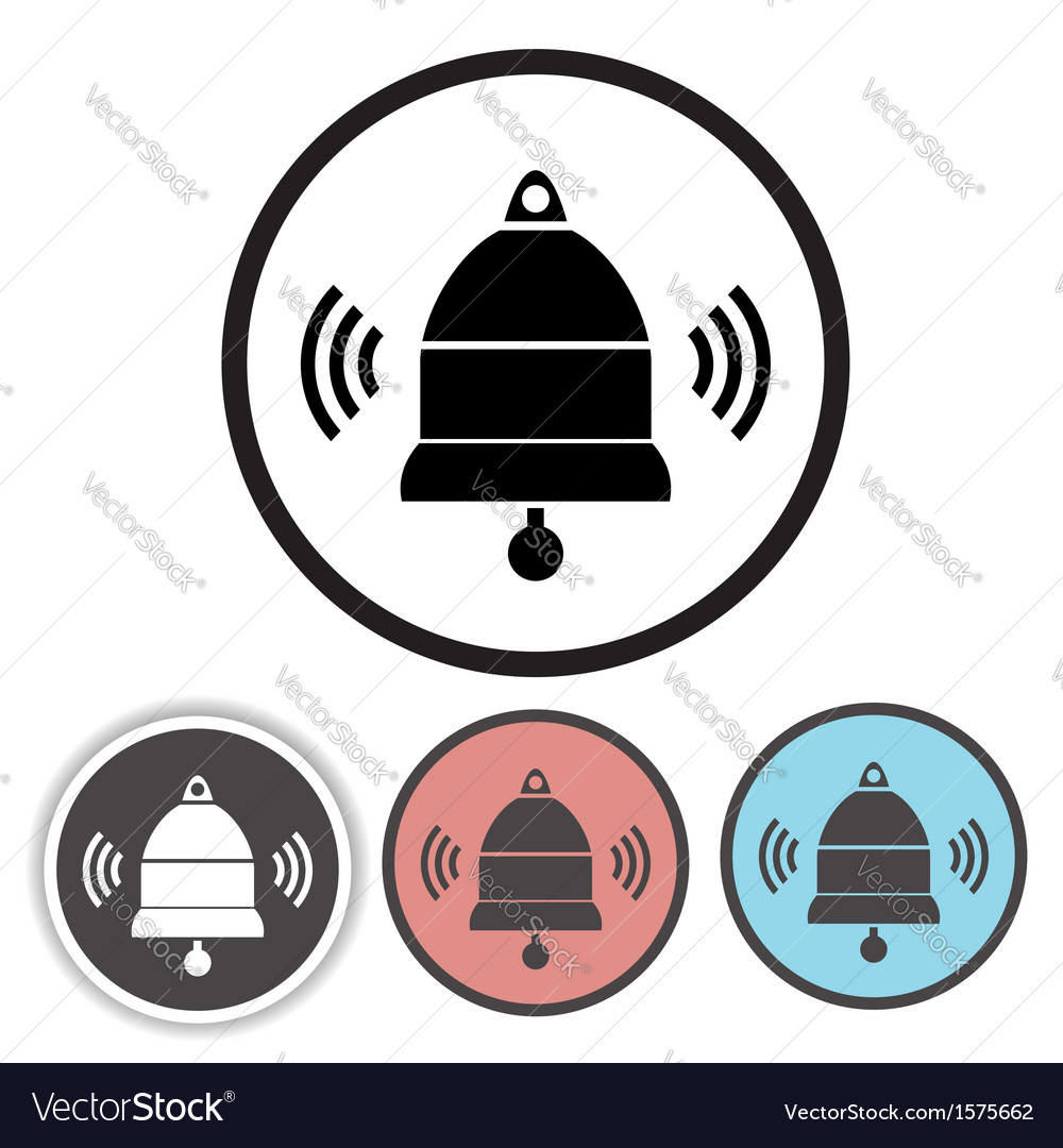 Old bell icons vector | Price: 1 Credit (USD $1)