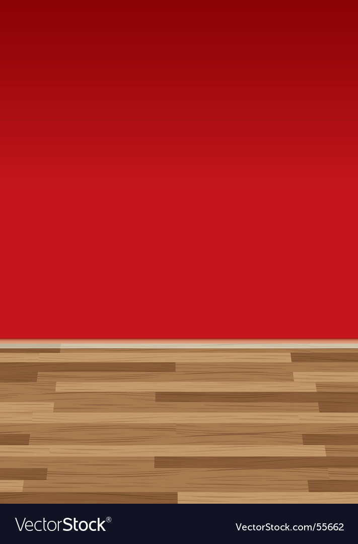 Wood floor wall red vector | Price: 1 Credit (USD $1)