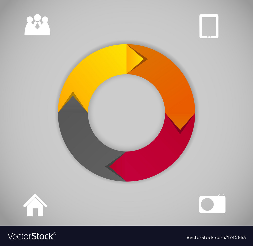 Infographic business template vector   Price: 1 Credit (USD $1)