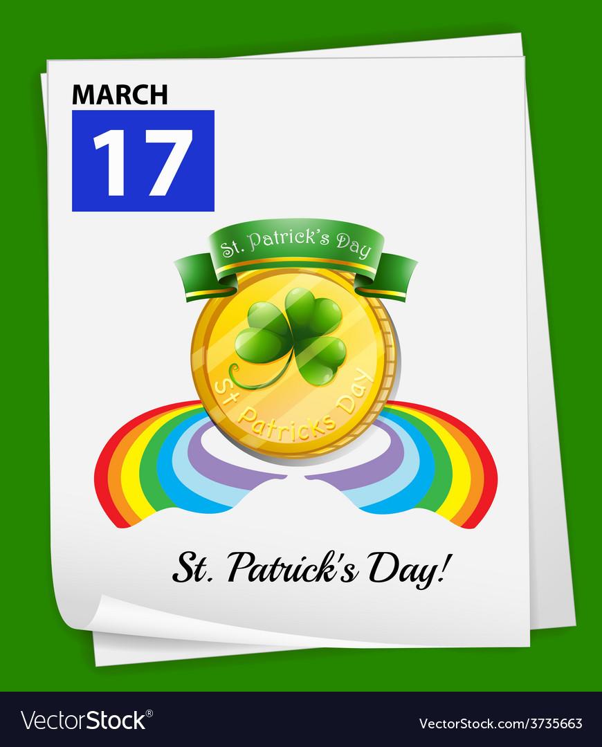 Patricks day vector | Price: 1 Credit (USD $1)