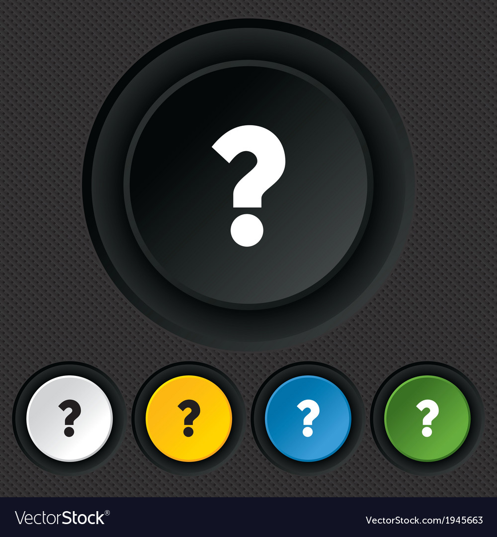 Question mark sign icon help symbol vector | Price: 1 Credit (USD $1)
