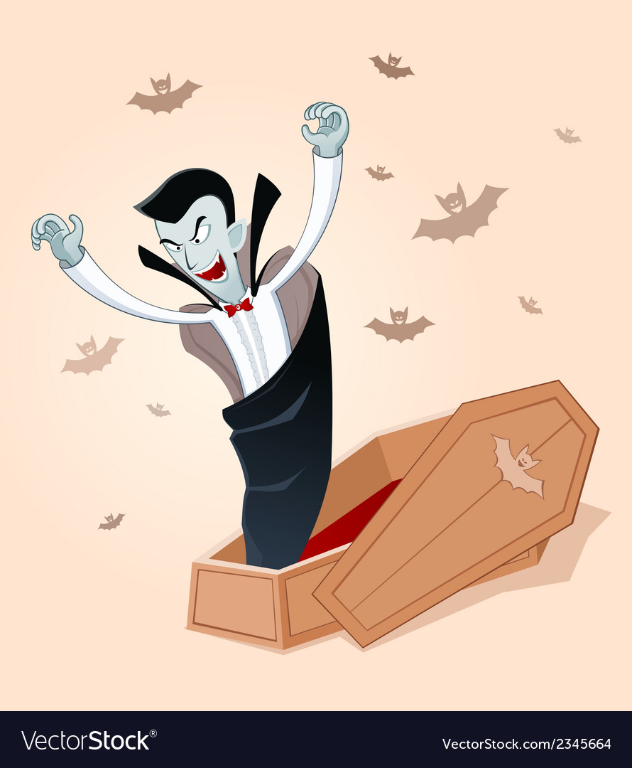 Awakening vampire vector | Price: 1 Credit (USD $1)