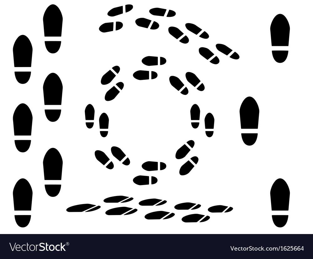 Foot prints vector   Price: 1 Credit (USD $1)