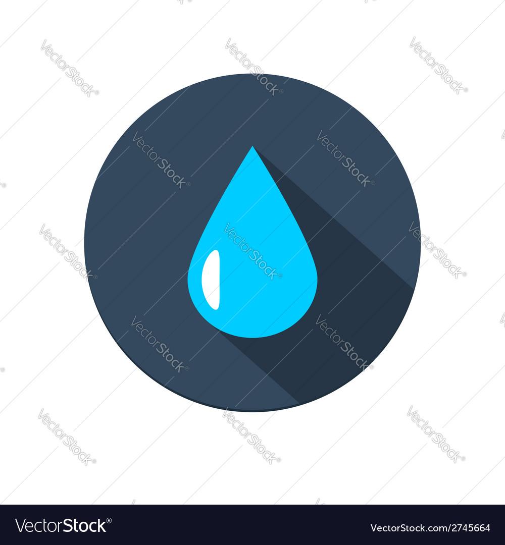 Raindrop icon vector | Price: 1 Credit (USD $1)