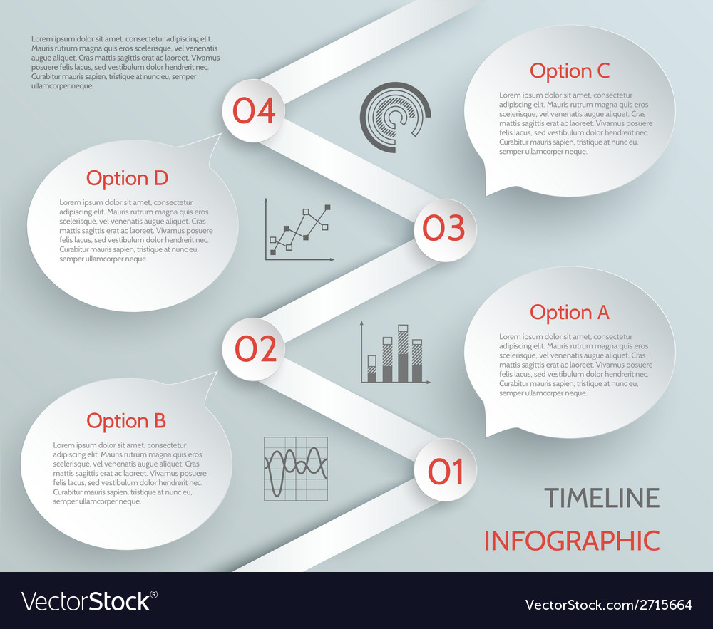 Timeline business infographic vector | Price: 1 Credit (USD $1)