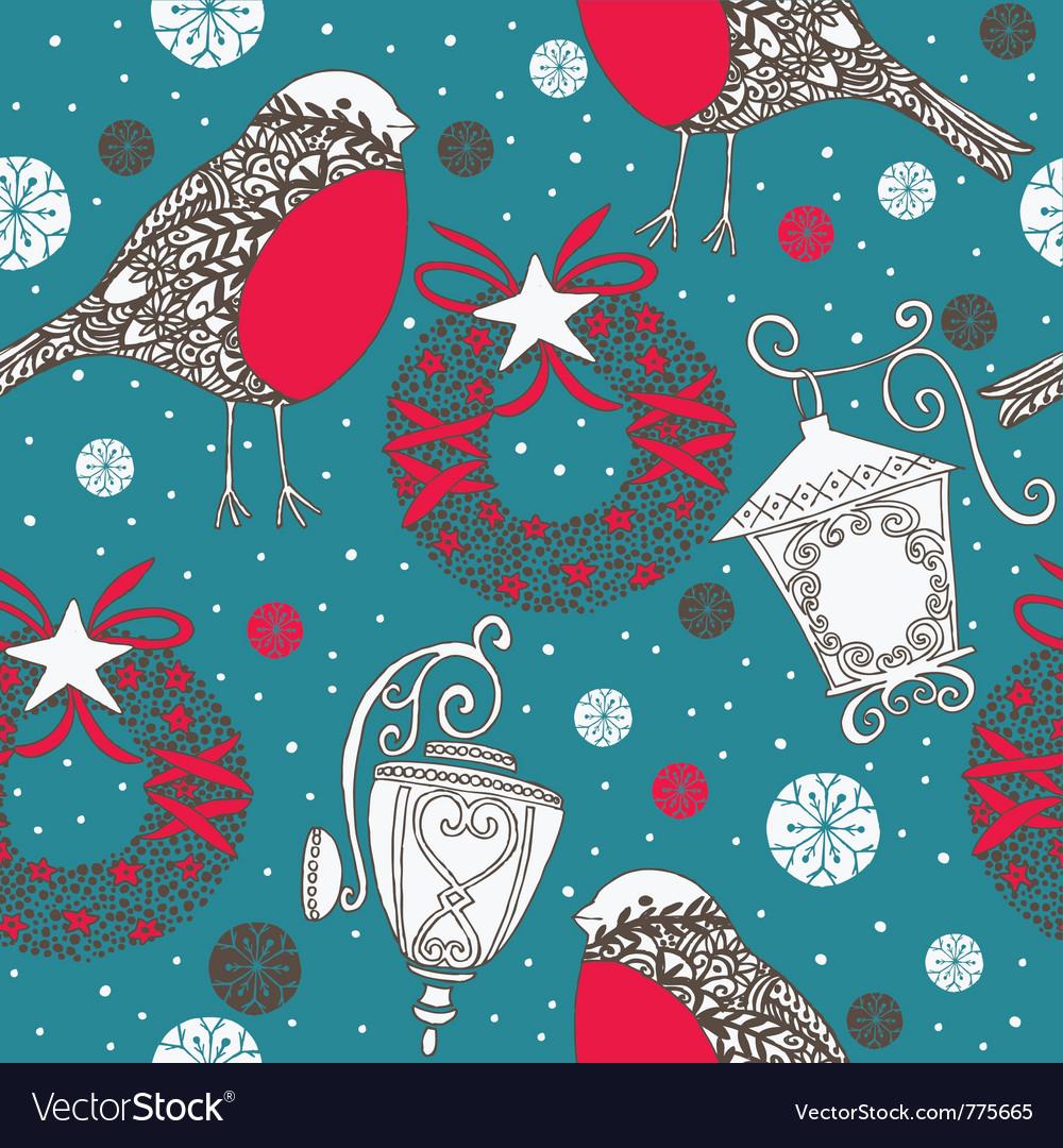 Christmas wallpaper vector | Price: 1 Credit (USD $1)