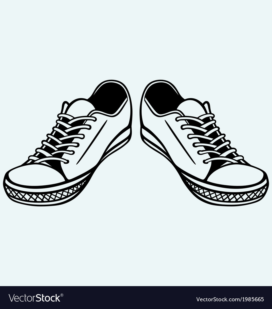 Vintage shoes vector | Price: 1 Credit (USD $1)