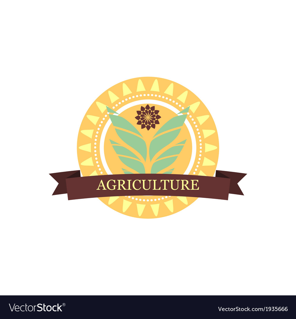 Agricultural logo vector | Price: 1 Credit (USD $1)
