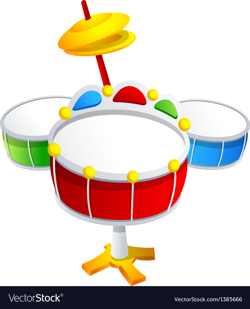 Icon drum vector | Price: 1 Credit (USD $1)
