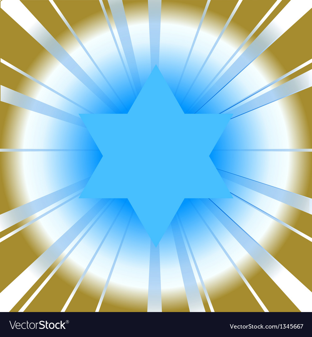Background with star of david vector | Price: 1 Credit (USD $1)