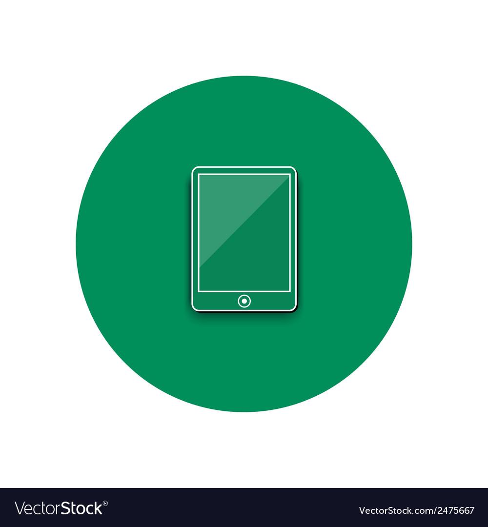 Line icon of smartphone vector | Price: 1 Credit (USD $1)