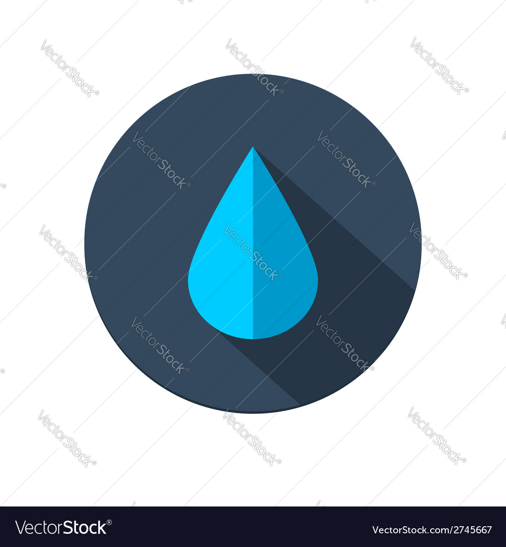 Raindrop icon vector | Price: 1 Credit (USD $1)
