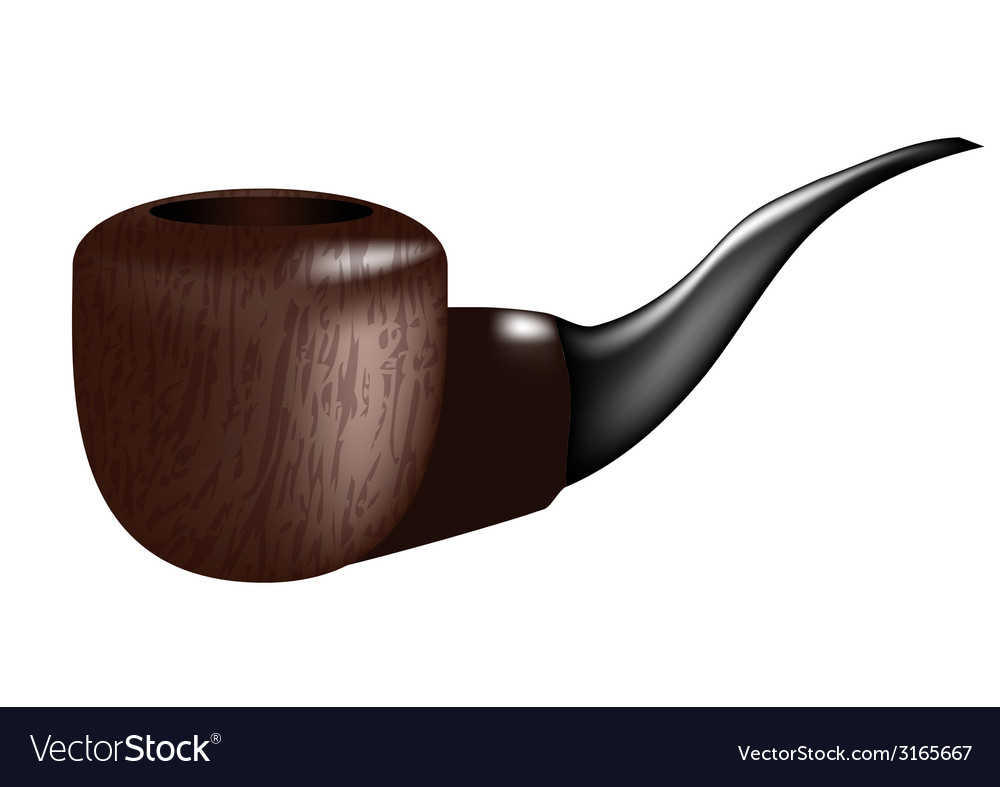 Smoking pipe vector | Price: 1 Credit (USD $1)