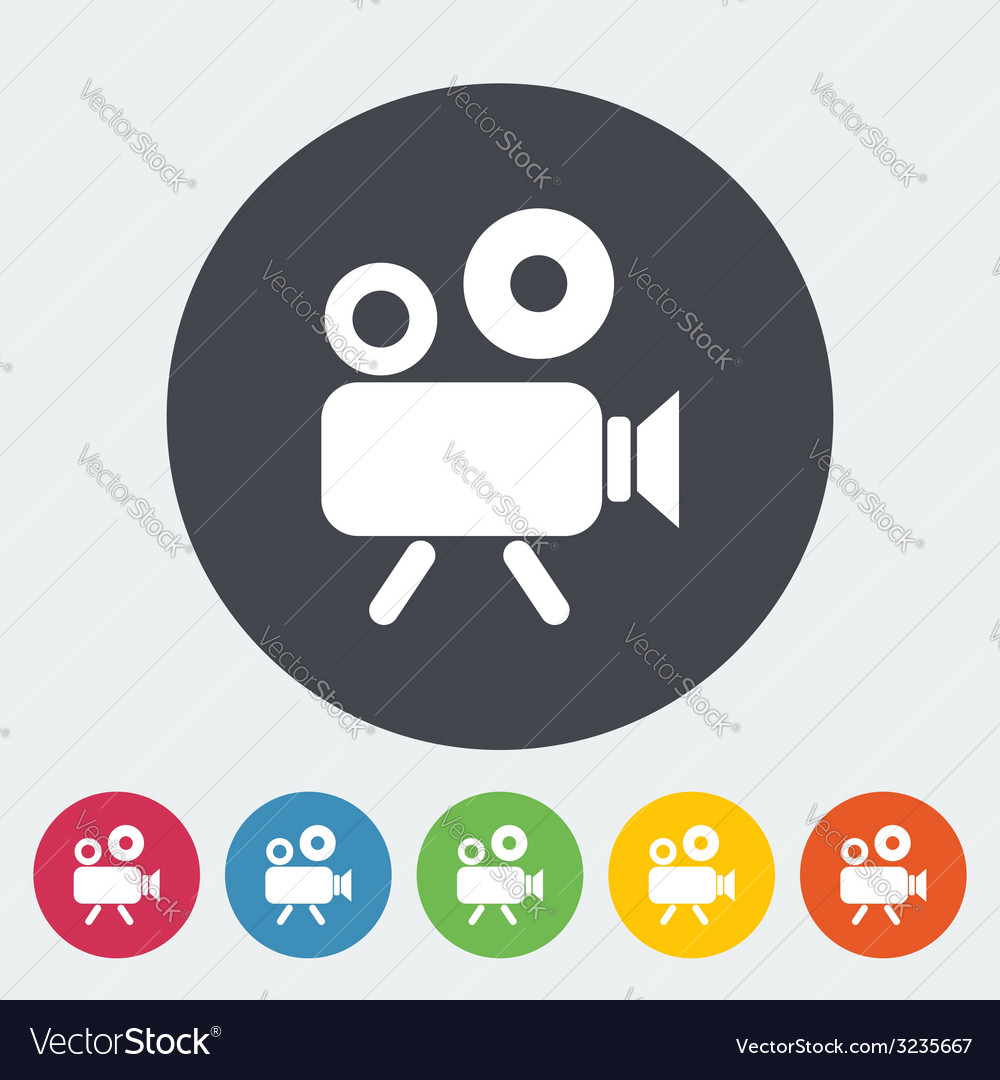 Videocamera vector | Price: 1 Credit (USD $1)