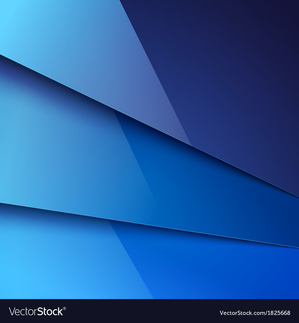Abstract background with blue metal layers vector | Price: 1 Credit (USD $1)