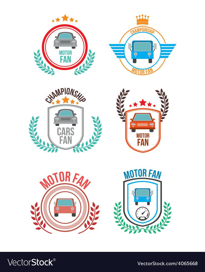 Motor fan design vector | Price: 1 Credit (USD $1)