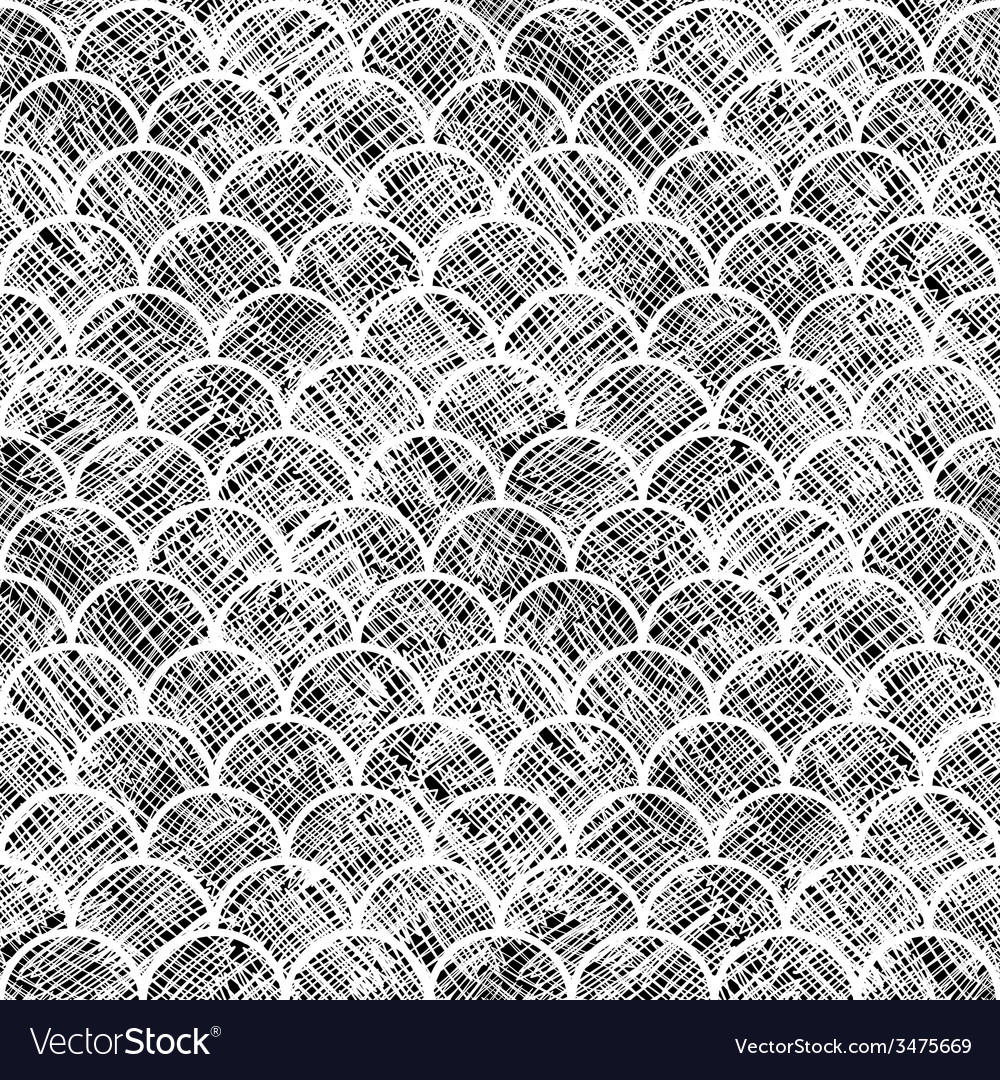 Asian scale seamless pattern textured vector | Price: 1 Credit (USD $1)