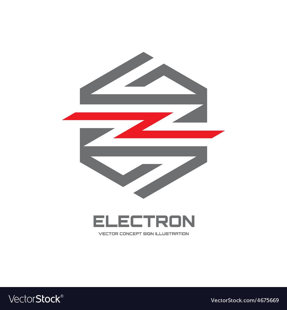 Electron - logo concept vector | Price: 1 Credit (USD $1)