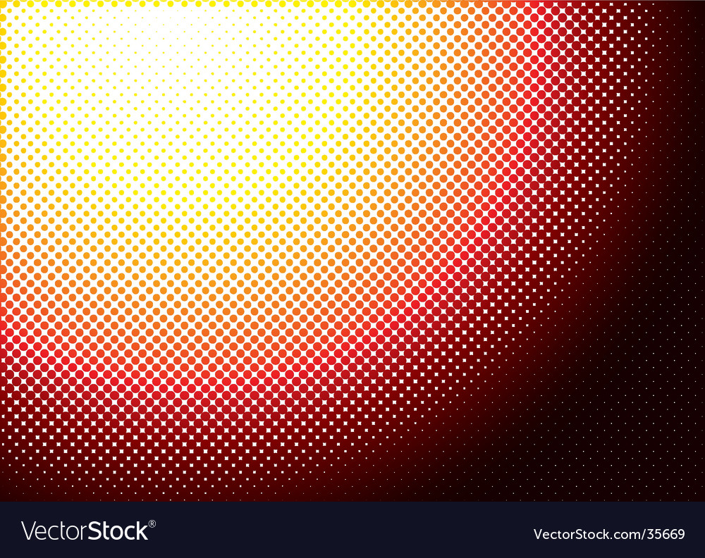 Halftone burn vector | Price: 1 Credit (USD $1)
