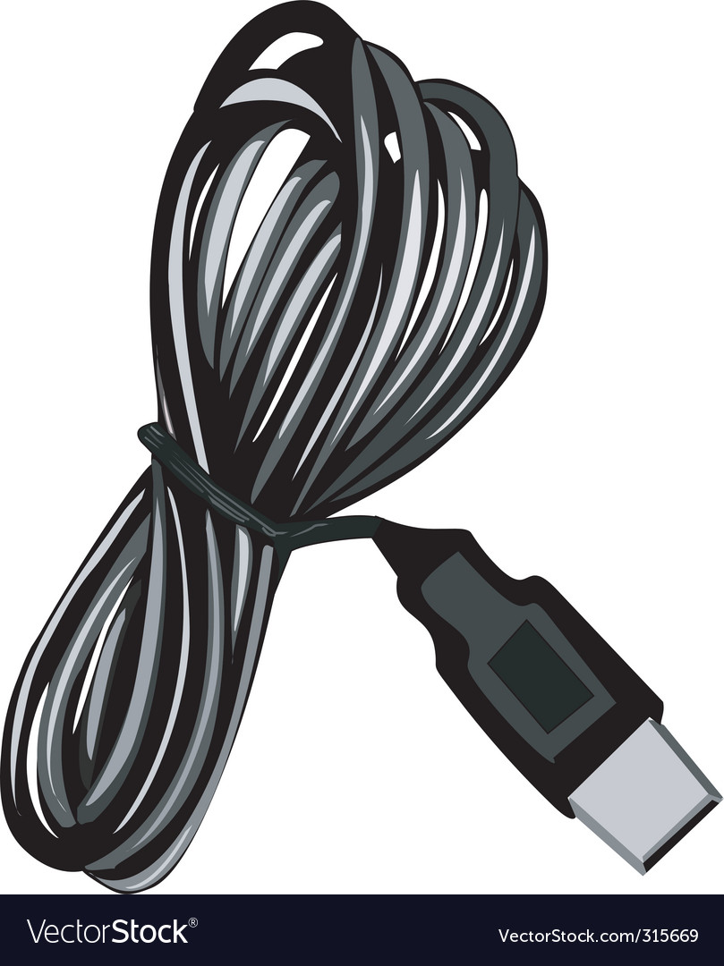 Industry cable vector | Price: 1 Credit (USD $1)