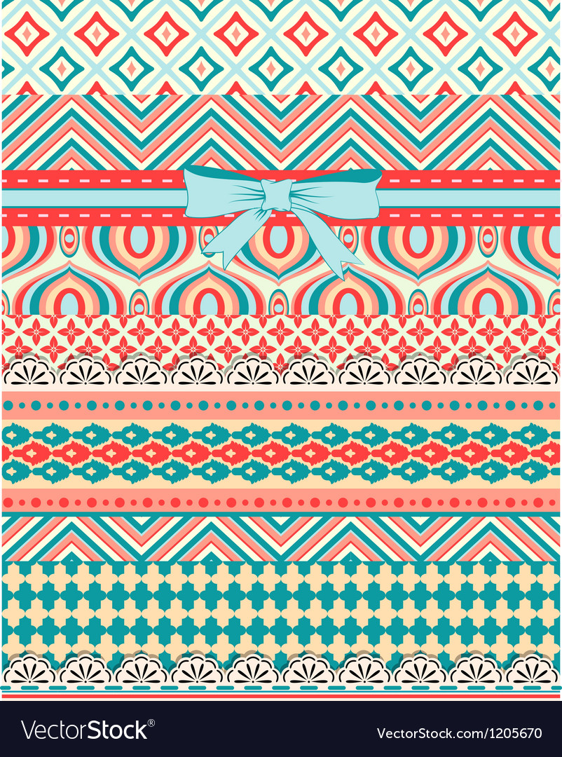 Set of patterns and stripes for scrapbooking all vector | Price: 1 Credit (USD $1)