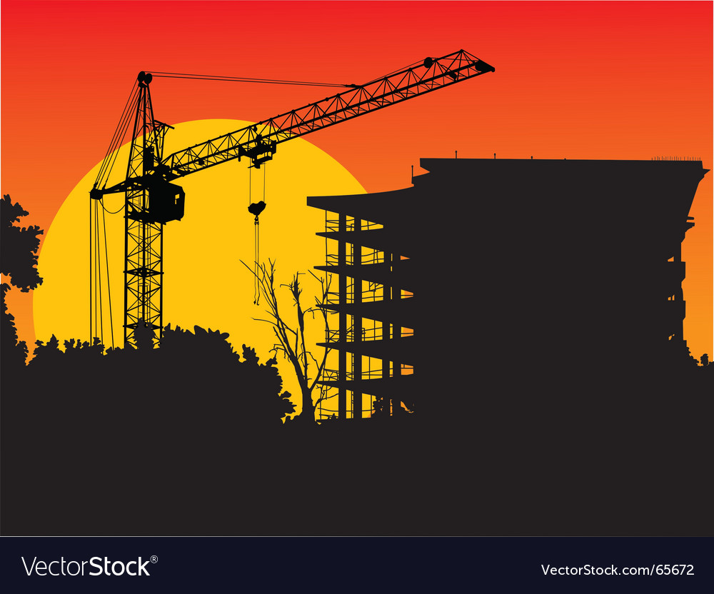 Crane vector | Price: 1 Credit (USD $1)