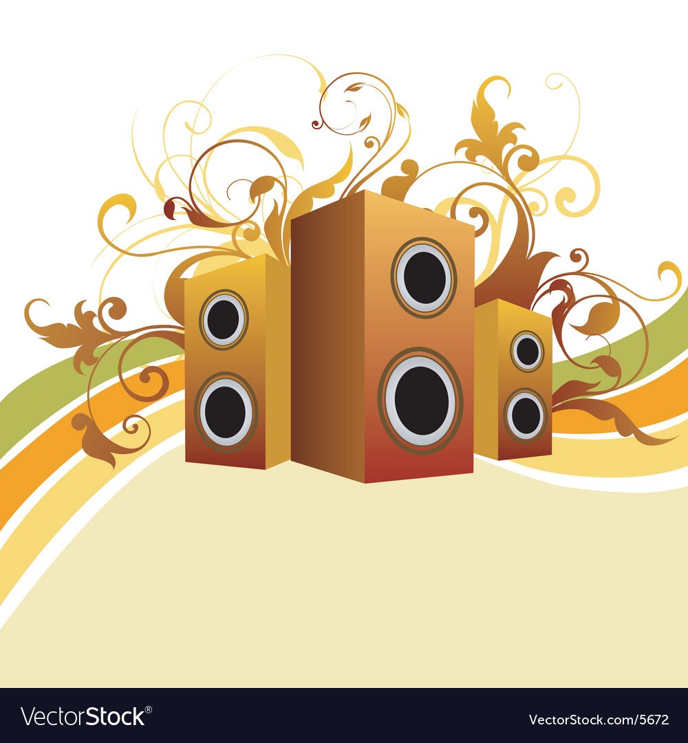 Musical graphic background vector | Price: 1 Credit (USD $1)