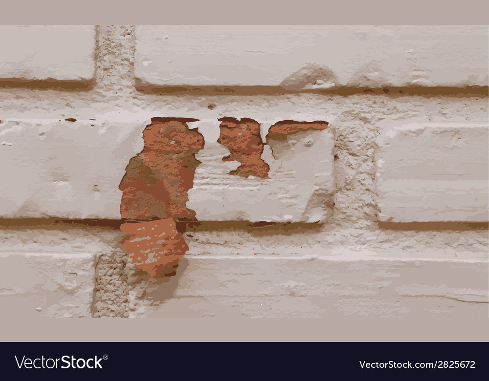 Texture of brick wall background vector | Price: 1 Credit (USD $1)