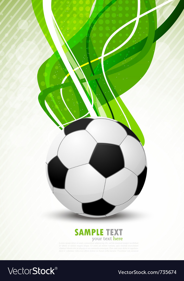 Background with ball vector | Price: 3 Credit (USD $3)