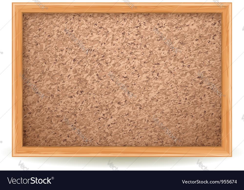 Cork board vector | Price: 1 Credit (USD $1)