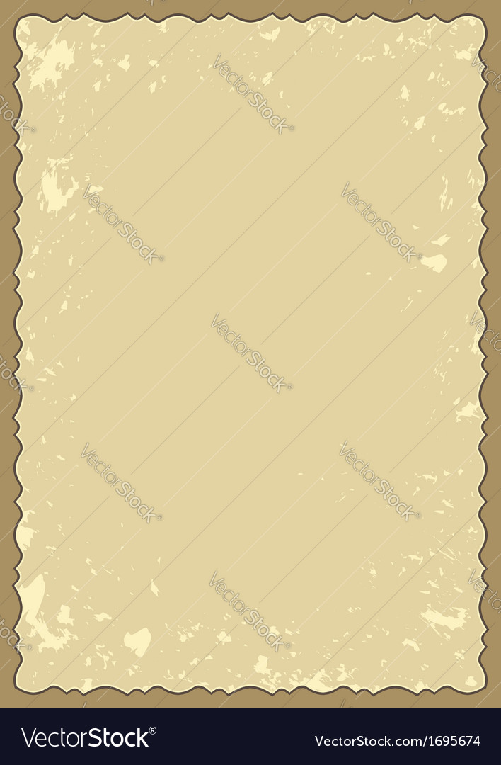 Old frame with grunge background vector | Price: 1 Credit (USD $1)