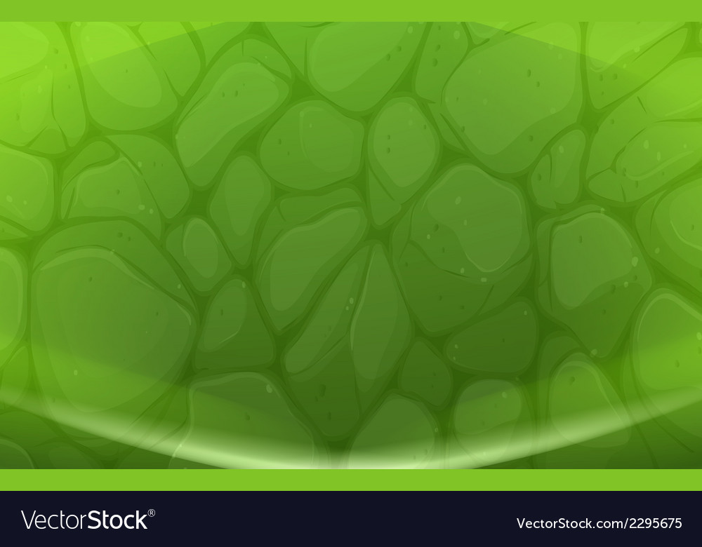 A green stonewall vector | Price: 1 Credit (USD $1)
